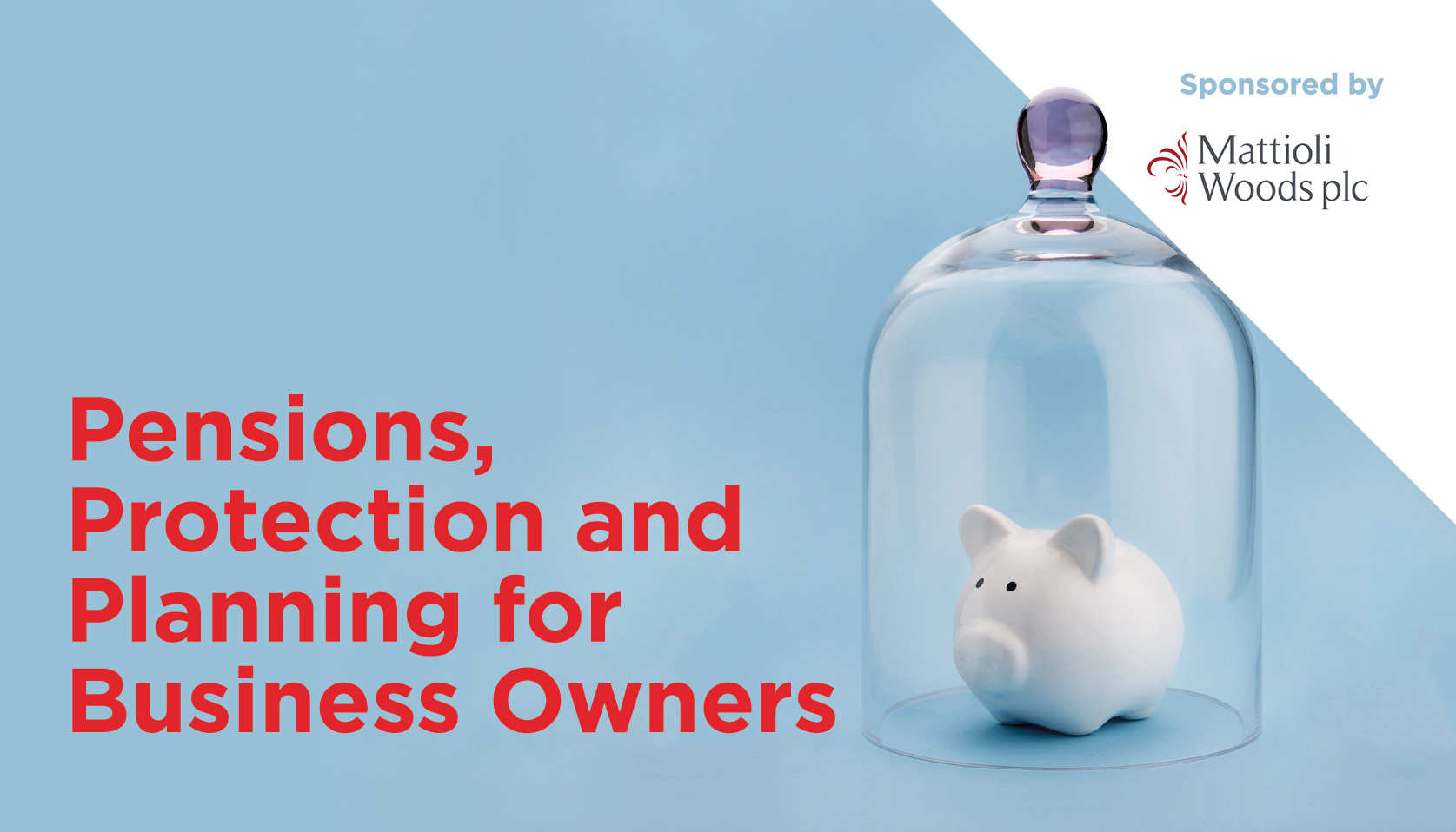 Pensions, Protection and Planning for Business Owners