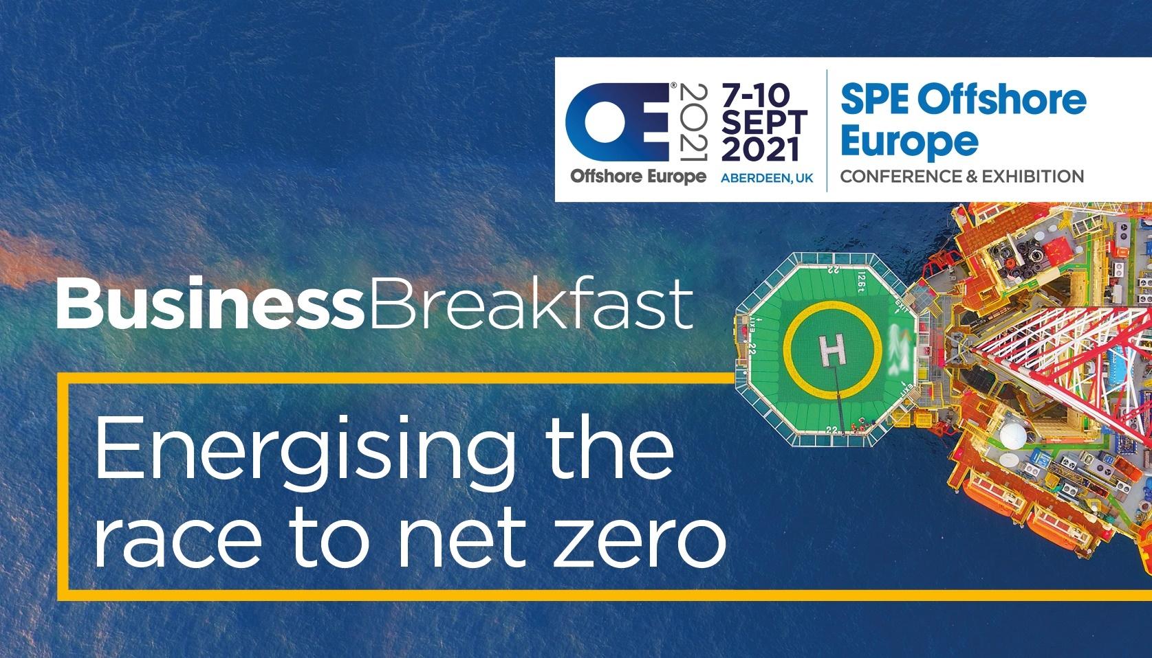 Business Breakfast - Energising the race to net zero