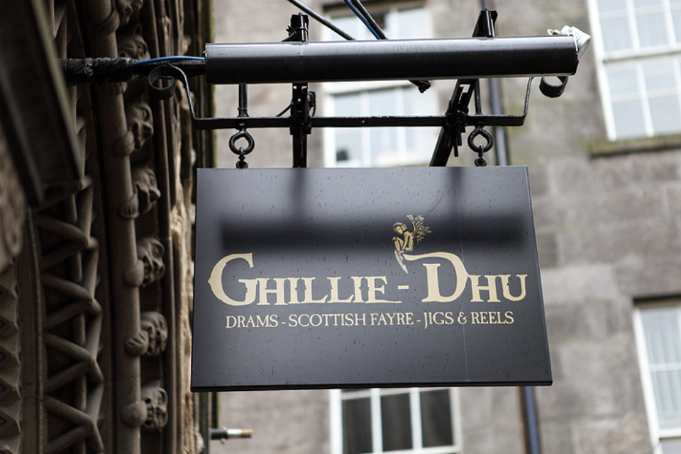 Lunch at Ghillie - Dhu