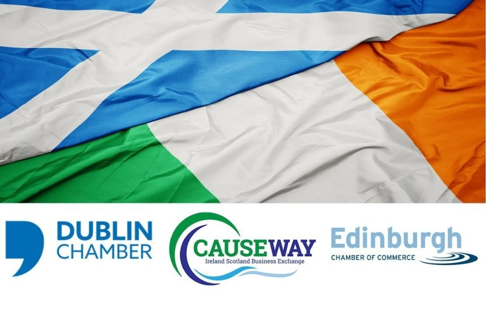 In partnership with the Dublin Chamber and Edinburgh Chamber of Commerce