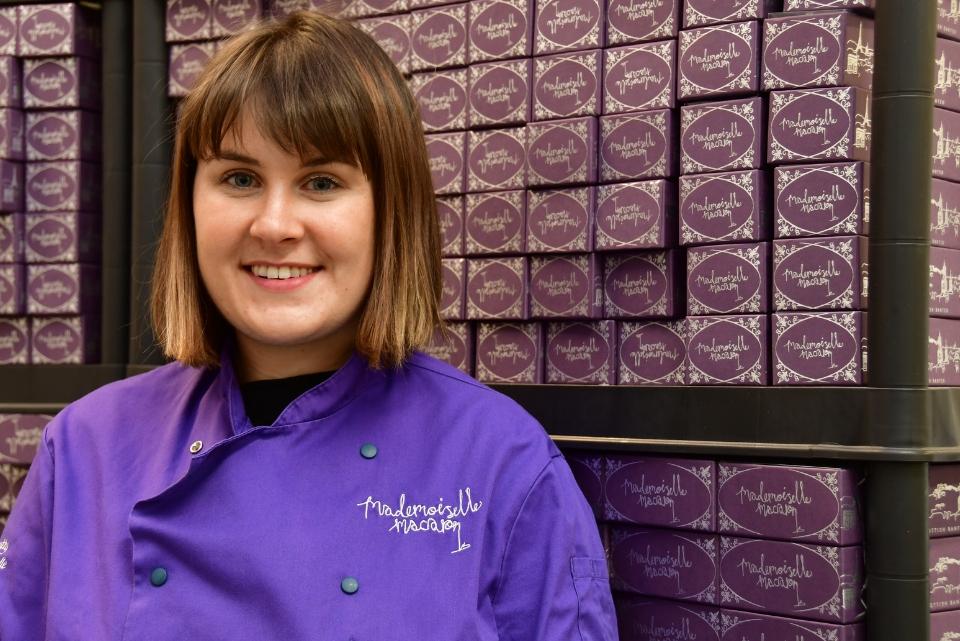 Business Gateway Empowers Women – Rachel Hanretty , Chief Mademoiselle at Mademoiselle Macaron