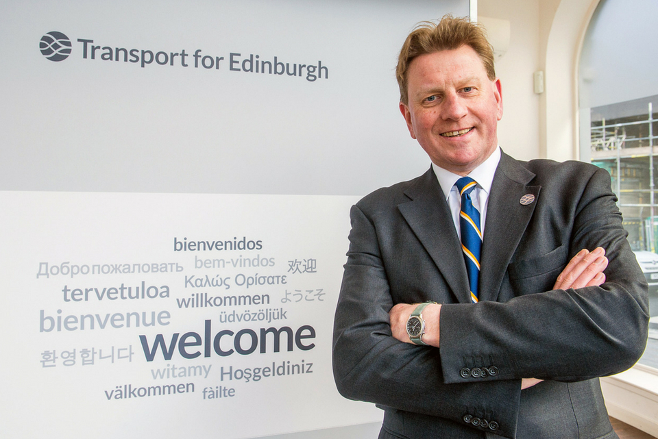 Developing Edinburgh: George Lowder, Transport for Edinburgh