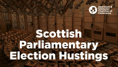 Scottish parliamentary election hustings